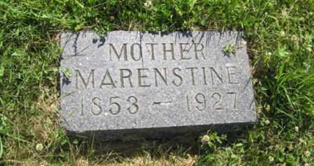 ANDERSON, MARENSTINE - Hamilton County, Nebraska   MARENSTINE ANDERSON - Nebraska Gravestone Photos