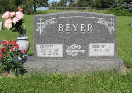 BEYER, CHESTER L. - Hamilton County, Nebraska | CHESTER L. BEYER - Nebraska Gravestone Photos