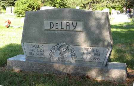 DELAY, NANNA D. - Hamilton County, Nebraska | NANNA D. DELAY - Nebraska Gravestone Photos