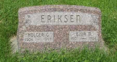 ERIKSEN, HOLGER G. - Hamilton County, Nebraska | HOLGER G. ERIKSEN - Nebraska Gravestone Photos