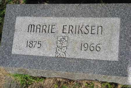 ERIKSEN, MARIE - Hamilton County, Nebraska   MARIE ERIKSEN - Nebraska Gravestone Photos