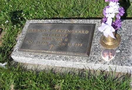 GRAVENGAARD, HAROLD P. - Hamilton County, Nebraska   HAROLD P. GRAVENGAARD - Nebraska Gravestone Photos