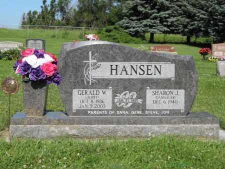 HANSEN, GERALD W. - Hamilton County, Nebraska | GERALD W. HANSEN - Nebraska Gravestone Photos