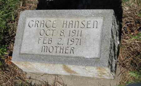 HANSEN, GRACE - Hamilton County, Nebraska   GRACE HANSEN - Nebraska Gravestone Photos