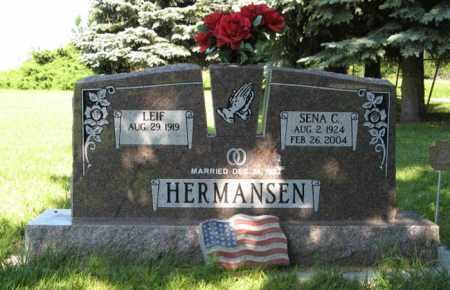 HERMANSEN, LEIF - Hamilton County, Nebraska | LEIF HERMANSEN - Nebraska Gravestone Photos