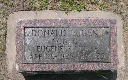 HUTSELL, DONALD EUGEN - Hamilton County, Nebraska   DONALD EUGEN HUTSELL - Nebraska Gravestone Photos