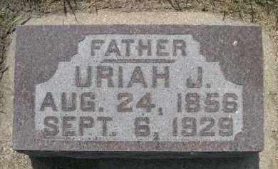 HUTSELL, URIAH J. - Hamilton County, Nebraska | URIAH J. HUTSELL - Nebraska Gravestone Photos