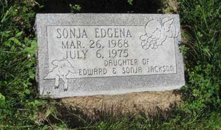JACKSON, SONJA EDGENA - Hamilton County, Nebraska | SONJA EDGENA JACKSON - Nebraska Gravestone Photos