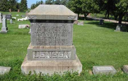 JENSEN, MAREN K. T - Hamilton County, Nebraska | MAREN K. T JENSEN - Nebraska Gravestone Photos