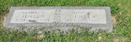 JENSEN, IDA S. - Hamilton County, Nebraska | IDA S. JENSEN - Nebraska Gravestone Photos