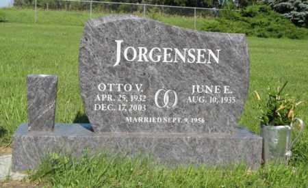 JORGENSEN, OTTO V. - Hamilton County, Nebraska | OTTO V. JORGENSEN - Nebraska Gravestone Photos