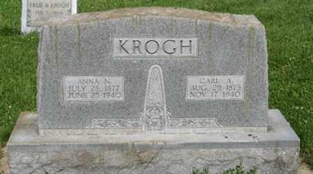 KROGH, CARL A. - Hamilton County, Nebraska | CARL A. KROGH - Nebraska Gravestone Photos