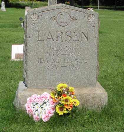 LARSEN, IDA M. - Hamilton County, Nebraska | IDA M. LARSEN - Nebraska Gravestone Photos