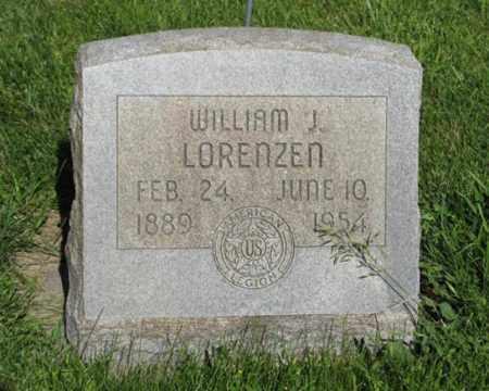 LORENZEN, WILLIAM J. - Hamilton County, Nebraska | WILLIAM J. LORENZEN - Nebraska Gravestone Photos