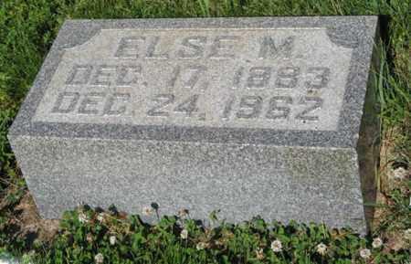 NISSEN, ELSE M. - Hamilton County, Nebraska | ELSE M. NISSEN - Nebraska Gravestone Photos