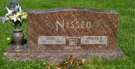 NISSEN, SIGNE I. - Hamilton County, Nebraska | SIGNE I. NISSEN - Nebraska Gravestone Photos