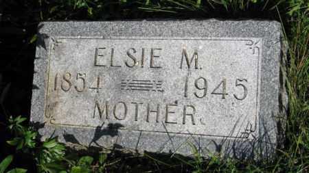 OLSEN, ELSIE M. - Hamilton County, Nebraska | ELSIE M. OLSEN - Nebraska Gravestone Photos
