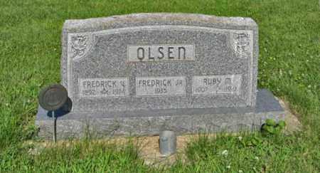OLSEN, RUBY M. - Hamilton County, Nebraska | RUBY M. OLSEN - Nebraska Gravestone Photos