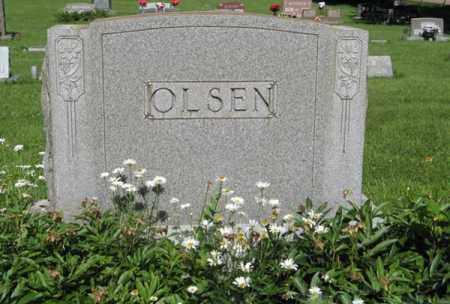 OLSEN, FAMILY - Hamilton County, Nebraska   FAMILY OLSEN - Nebraska Gravestone Photos