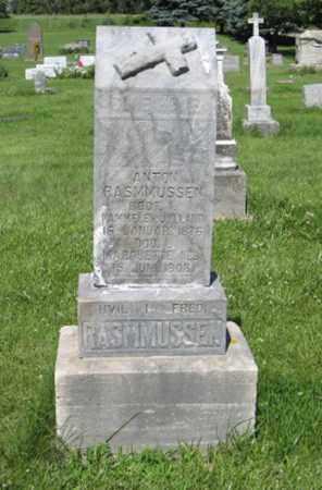 RASMMUSSEN, ANTON - Hamilton County, Nebraska | ANTON RASMMUSSEN - Nebraska Gravestone Photos