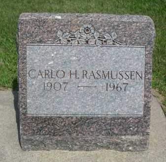 RASMUSSEN, CARLO H. - Hamilton County, Nebraska   CARLO H. RASMUSSEN - Nebraska Gravestone Photos