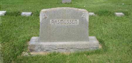 RASMUSSEN, FAMILY - Hamilton County, Nebraska | FAMILY RASMUSSEN - Nebraska Gravestone Photos