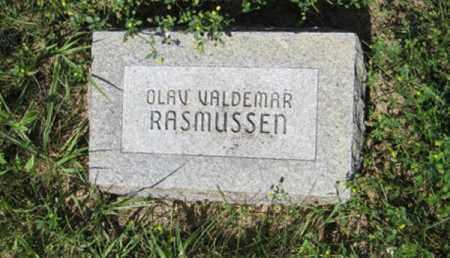 RASMUSSEN, OLAV VALDEMAR - Hamilton County, Nebraska | OLAV VALDEMAR RASMUSSEN - Nebraska Gravestone Photos