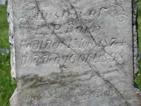 RAUN, HANNE S. (CLOSEUP FRONT) - Hamilton County, Nebraska   HANNE S. (CLOSEUP FRONT) RAUN - Nebraska Gravestone Photos