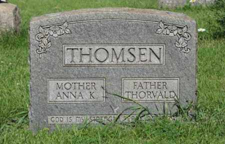 THOMSEN, ANNA K. - Hamilton County, Nebraska | ANNA K. THOMSEN - Nebraska Gravestone Photos