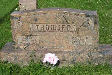 THOMSEN, MAE - Hamilton County, Nebraska | MAE THOMSEN - Nebraska Gravestone Photos