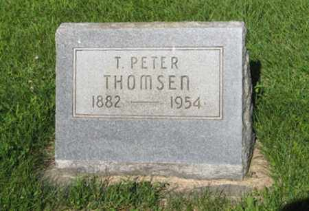 THOMSEN, T. PETER - Hamilton County, Nebraska   T. PETER THOMSEN - Nebraska Gravestone Photos
