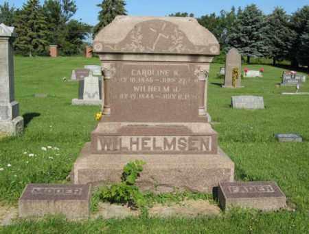 WILHELMSEN, CAROLINE K. - Hamilton County, Nebraska | CAROLINE K. WILHELMSEN - Nebraska Gravestone Photos