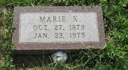 WILHELMSEN, MARIE K. - Hamilton County, Nebraska | MARIE K. WILHELMSEN - Nebraska Gravestone Photos