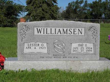 WILLIAMSEN, LESTER O. - Hamilton County, Nebraska | LESTER O. WILLIAMSEN - Nebraska Gravestone Photos