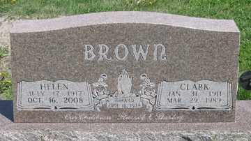 BROWN, CLARK - Hitchcock County, Nebraska | CLARK BROWN - Nebraska Gravestone Photos