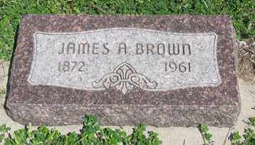 BROWN, JAMES A. - Hitchcock County, Nebraska | JAMES A. BROWN - Nebraska Gravestone Photos