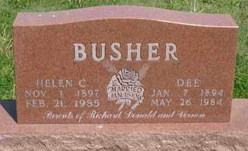 BUSHER, HELEN C. - Hitchcock County, Nebraska | HELEN C. BUSHER - Nebraska Gravestone Photos