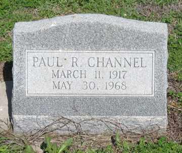 CHANNEL, PAUL R. - Hitchcock County, Nebraska   PAUL R. CHANNEL - Nebraska Gravestone Photos