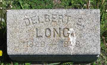 LONG, DELBERT E. - Hitchcock County, Nebraska | DELBERT E. LONG - Nebraska Gravestone Photos