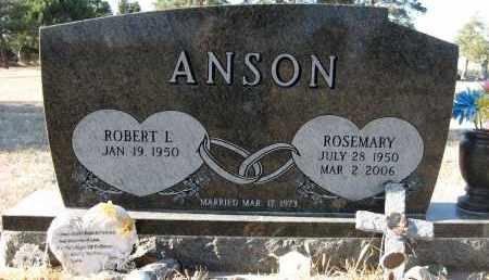 ANSON, ROSEMARY - Holt County, Nebraska | ROSEMARY ANSON - Nebraska Gravestone Photos