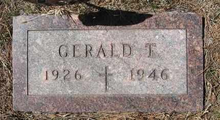 BOUSKA, GERALD T - Holt County, Nebraska | GERALD T BOUSKA - Nebraska Gravestone Photos