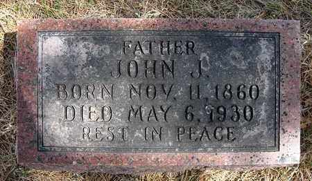 BOUSKA, JOHN J - Holt County, Nebraska | JOHN J BOUSKA - Nebraska Gravestone Photos