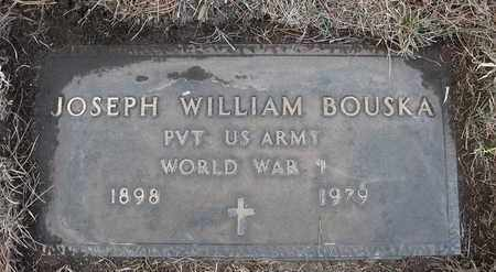 BOUSKA, JOSEPH WILLIAM - Holt County, Nebraska   JOSEPH WILLIAM BOUSKA - Nebraska Gravestone Photos
