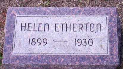 WESELY ETHERTON, HELEN - Holt County, Nebraska | HELEN WESELY ETHERTON - Nebraska Gravestone Photos