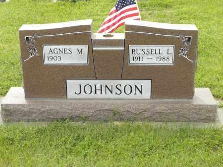 NEUBAUER JOHNSON, AGNES MARTHA - Holt County, Nebraska | AGNES MARTHA NEUBAUER JOHNSON - Nebraska Gravestone Photos