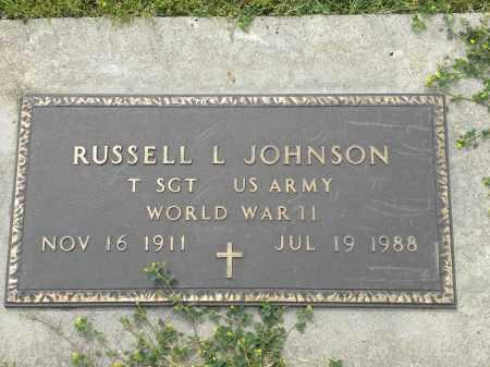 JOHNSON, RUSSELL LLOYD - Holt County, Nebraska | RUSSELL LLOYD JOHNSON - Nebraska Gravestone Photos