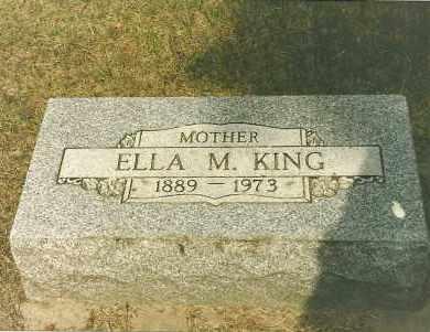KING, ELLA - Holt County, Nebraska | ELLA KING - Nebraska Gravestone Photos