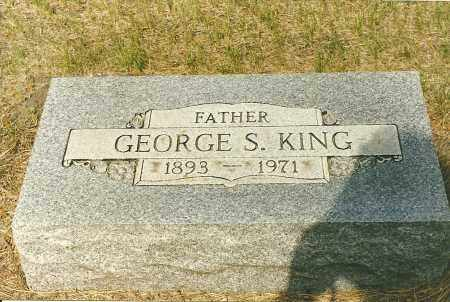 KING, GEORGE - Holt County, Nebraska | GEORGE KING - Nebraska Gravestone Photos