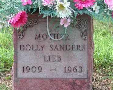 SANDERS LIEB, DOLLY - Holt County, Nebraska | DOLLY SANDERS LIEB - Nebraska Gravestone Photos
