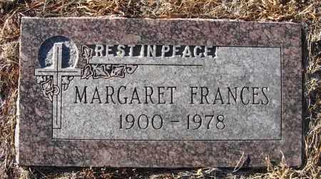 MALLOY, MARGARET FRANCES - Holt County, Nebraska | MARGARET FRANCES MALLOY - Nebraska Gravestone Photos
